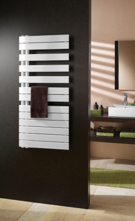 Stylish towel rails and radiators